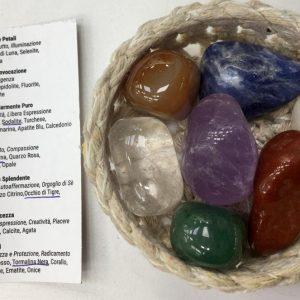 Chakra stone kit lrg, IStone