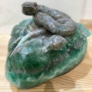Serpente e Tartaruga Fluorite Online 232, IStone